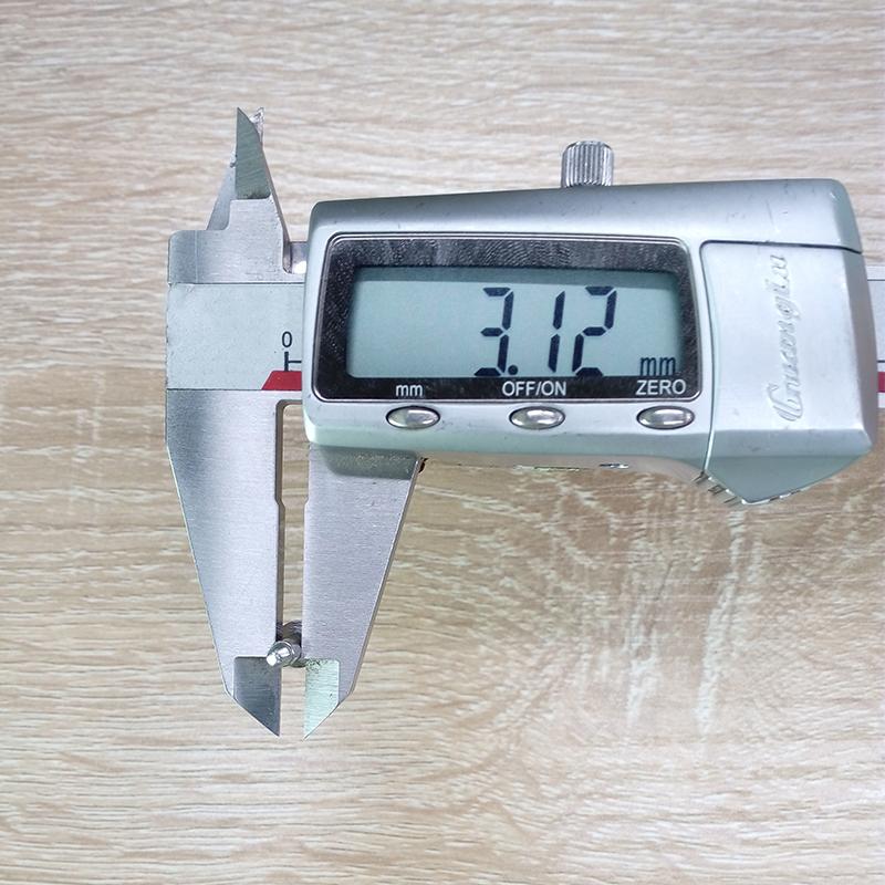不锈钢拉钉直径测量